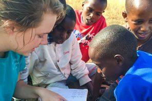 Valpo Nursing Student Impacts Health and Spirit of Children in Kenya