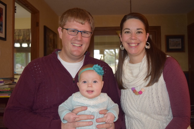 To Jessica and Phil LaBrash '10: Ruth, born May 30, 2017.