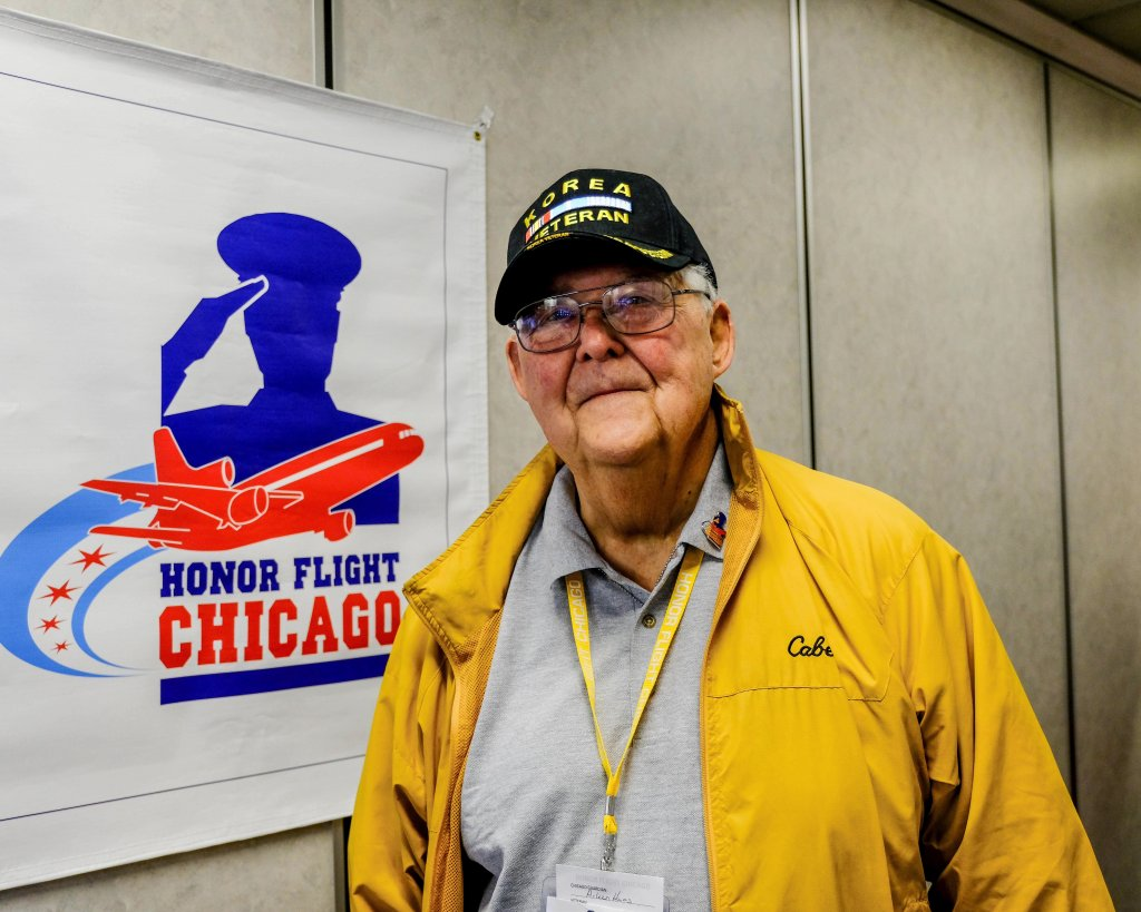 Seth H. Moseley III '59 completed the Honor Flight from Midway to Washington, D.C.,on Aug. 9, 2017.