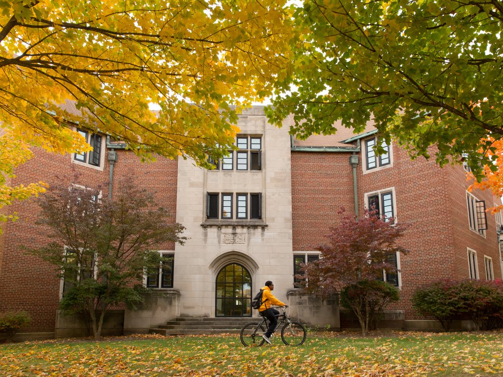 campus during fall season