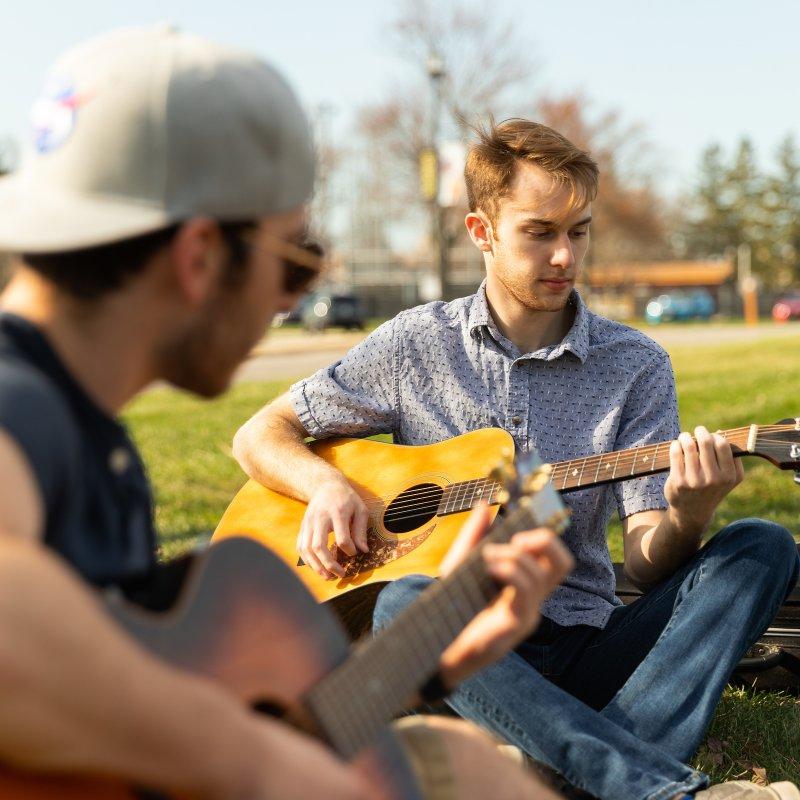 Guitars-Outside