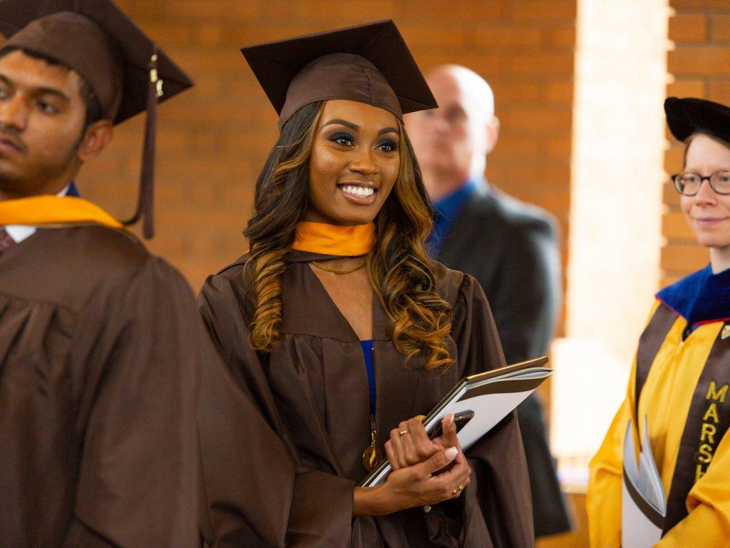 graduate student graduation ceremony