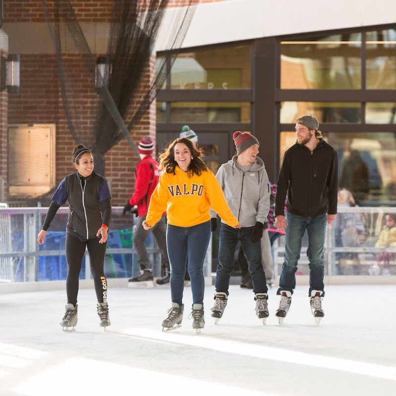 Downtown Ice Skating